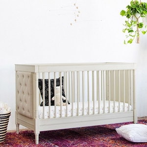Item # 010CRB - Dimensions:  Assembled size: 56 in L x 31in W x 36.25in H<BR> Weight: 103.62lbs<BR> Maximum Weights: <BR> Transition to Toddler Bed configuration when child begins to climb or reaches 35 LBS <BR> Maximum weight for Toddler Bed is 50 lbs<BR>