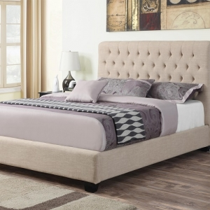 Item # 009Q Upholstered Queen Bed