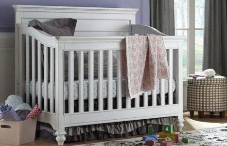 0115 Classic Panel Crib - Assembled Dimensions: 60