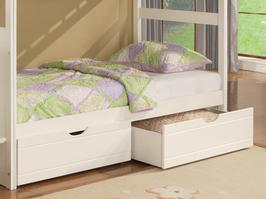 929-077 Angelica Collection Underbed Dual Drawer Unit - Dimensions: 73 1/4