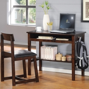 Item # 074D Desk - Finish: Espresso<br><br>Chair Included<br><br>Dimensions: 35