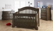 0155 Contour Crib - Assembled Dimensions: 58