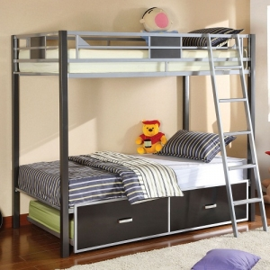 0023TR Twin Trundle - Contemporary Style<br><Br>Sturdy & Durable Metal Construction<br><br>
