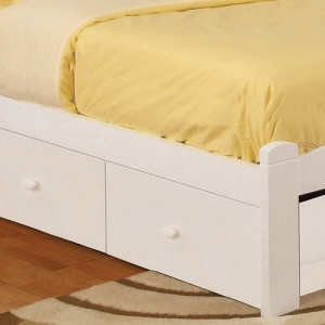 007S Storage Drawers - Available in Four Finshes<br><br>These under bed drawers will add more utility and extra storage space to a child's bedroom<br><br>