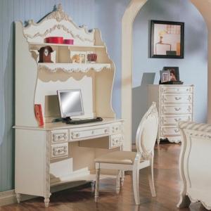 Item # 026D Pearl White Desk