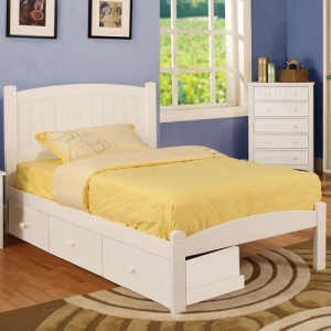 Item # 085FB Full Bed - Platform Bed<br><br>Slat Kit Included<br><br>Paneled Head Board<br><br>
