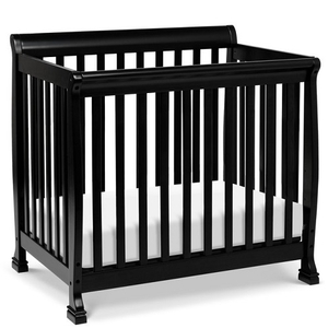 Item # 004MIN - DIMENSIONS<BR> Assembled Dimensions: 38.375in x 26.125in x 35in<BR> Assembled Weight: 26 lbs<BR> Slat strength: 149 lbs<BR> Interior Crib Measurements: 37.25inL x 23.75inW<BR> Front-rail measurements (top to floor): 31.25inH<BR>