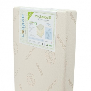 1013 EcoClassica III Organic Cotton Dual Zone Crib Mattress