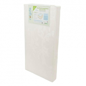 1012 EcoFoam Supreme Crib Mattress - Dimensions: 51.625