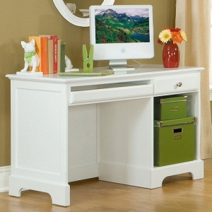 Item # A0082D - Finish: White<br><br>Dimensions: 46 x 24 x 30H