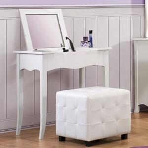 Item # 007V Vanity Desk - *Ottoman Sold Separately*<br><br>
