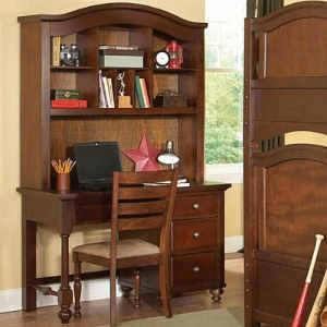 Item # 034HC Hutch - **Desk sold separately*<br><br>Aris Youth Hutch is classic in design and bold in style this desk w/ hutch adds warmth and character to your child's bedroom<br>