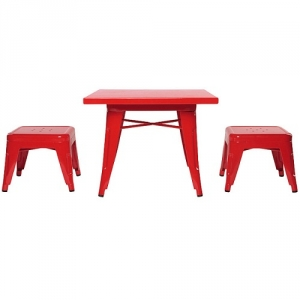 Item # 004KTCH Kids - Easy to wipe down post-play<br><br>Backless stools support good play posture<br><br>Stool stack for easy storage<br><br><b><br><br>Best for 2.5 - 6 year olds<br><br>Flared legs for anti-tip safety<br><br>Lead and phthalate safe with non-toxic