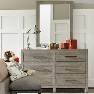 Item # A0001M - Finish: Greystone<br><br>Dresser Sold Separately<br><br>Dimensions: 32W x 2D x 40H