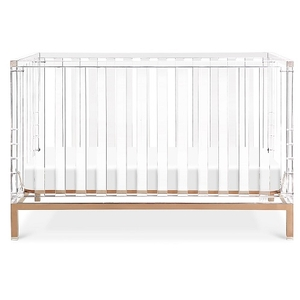 Item # 006LUX - Dimensions Crib assembled dimensions: 54inW x 30inD x 35inH Crib assembled weight: 99 lbs