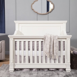 Item # 003CRB - Dimensions<BR> Assembled Dimensions: 61.62inX 34.45in X 50.55in<BR> Assembled Weight: 139 lbs<BR> Slat Strength: 135 lbs <BR> MAXIMUM WEIGHT Crib: Stop using when child begins to climb or reaches 35