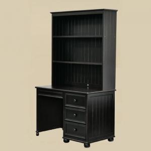 Item # 041D Computer Desk in Black - Hutch Sold Separately