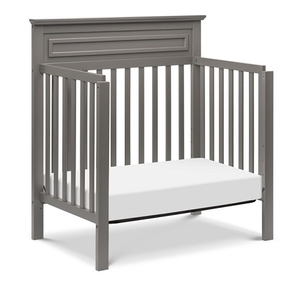 Item # 010MIN - Made in Taiwan<BR>  DIMENSIONS<BR>  Assembled Dimensions: 42.5in x 26.5in x 44in<BR>  Assembled Weight: 41.9 lbs<BR>  Slat strength: 149 lbs<BR>  Interior Crib Measurements: 37.75inL x 23.75inW<BR>
