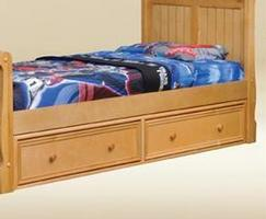 1602B Two Under Bed Drawers in Birch - *Bed Sold Separately*