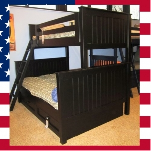 Item # US0008 Twin over Full Bunk Bed - Made in USA<br><br>Durable & Super Strong<br><br>Available in 33 Different Color<br><br>Made to order<br><br>Modifications are available<br><br>Sizes Available: Twin/Full/Queen
