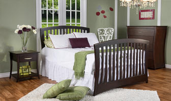 0168 Arched Crib
