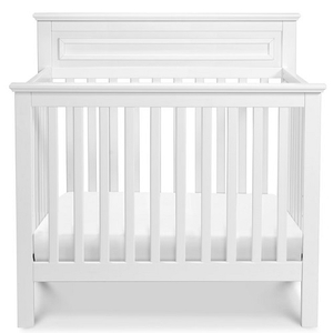 Item # 011MIN - Made in Taiwan<BR>  DIMENSIONS<BR>  Assembled Dimensions: 42.5in x 26.5in x 44in<BR>  Assembled Weight: 41.9 lbs<BR>  Slat strength: 149 lbs<BR>  Interior Crib Measurements: 37.75inL x 23.75inW<BR>