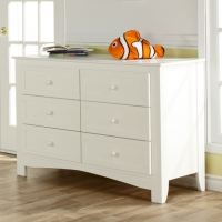 0558 Modern Double Dresser - Assembled Dimensions: 50