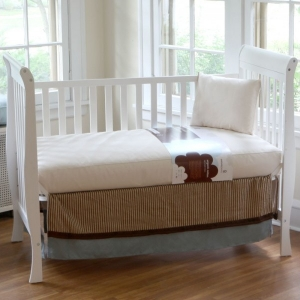 1005 Organic Cotton Ultra Seamless Crib Mattress