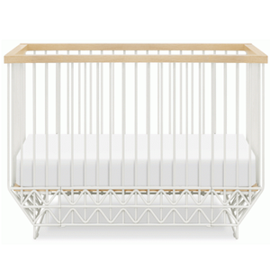 "Item # 012LUX - DIMENSIONS Assembled dimensions:  L 55.5"" x W 31""x H 36.8""  Assembled weight:  142.15 lbs  Includes Toddler Bed Conversion Kit"