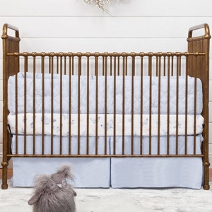 Item # 213CRB - Finish: Vintage Gold<br>Available in Vintage Iron or Washed White finish<br>Assembled Dimensions: 53.89 x 29.52 x 43.89<br>Assembled Weight: 77 lbs